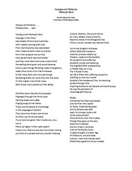 Lyrics to Ancient India Song by Mr. Nicky