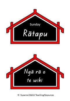 Māori Days of the Week