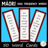Māori - High Frequency Words