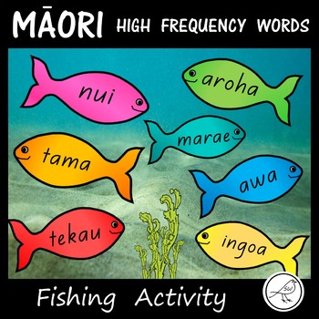 Māori High Frequency Words – Fishing Activity