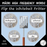 Māori High Frequency Words – Flip the whitebait fritters