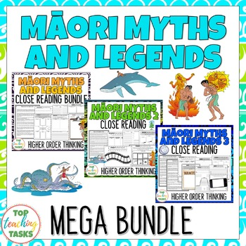 Māori Myths & Legends MEGA BUNDLE NZ