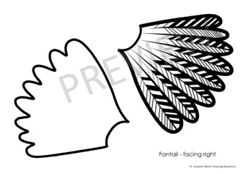 Māori Myths and Legends  -  Fantail Craft