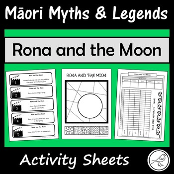 Māori Myths and Legends – Rona and the Moon