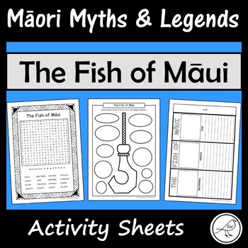 Māori Myths and Legends – The Fish of Māui