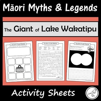 Māori Myths and Legends – The Giant of Lake Wakatipu