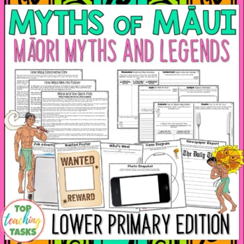 Māori Myths and Legends | Māui Myths