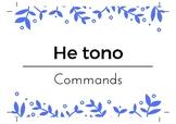Māori vocab and sentence helpers