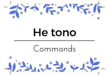 Māori vocab and sentence helpers