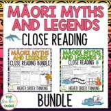 Māori Myths & Legends BUNDLE New Zealand Reading Texts Hig
