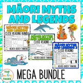 Māori Myths & Legends MEGA BUNDLE NZ Reading Texts Higher