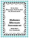 M 10.4 Determine Appropriate Measurement Tool NEW Extended Standards AAA