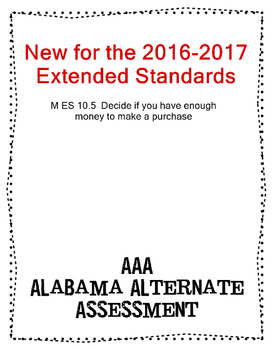 M 10.5 Decide if you can make a purchase  NEW Extended Standards AAA