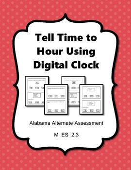 M 2.3 Time to Hour Digital Clock NEW Extended Standards AAA