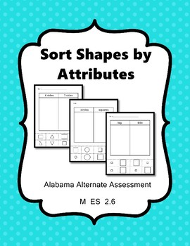 M 2.6 Sort Shapes  by Attributes  NEW Extended Standards AAA