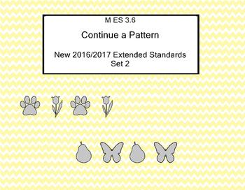 M 3.6 Extended Standard Continue a Pattern Alabama Alterna