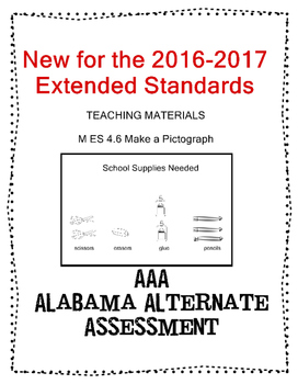 M 4.6 Extended Standards Make a Pictograh NEW AAA