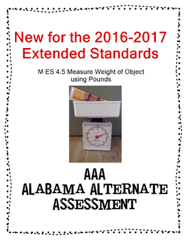 M 4.5 Extended Standards Measure Using Pounds  NEW AAA