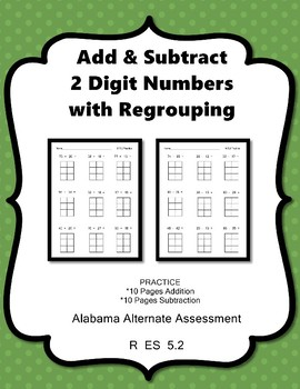 M 5.2 Add and Subtract w/regrouping NEW AAA Teaching Materials