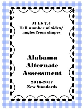 M 7.4 Extended Standard Number of Sides and Angles of Shapes NEW AAA