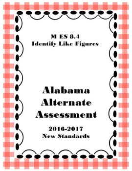 M 8.4 Identify Like Shapes NEW Extended Standards AAA