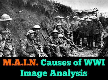 M.A.I.N. Causes of WWI Image Analysis