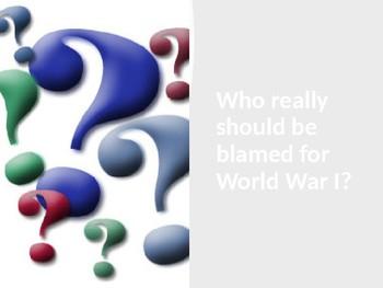 M.A.I.N Causes of World War I Bundle