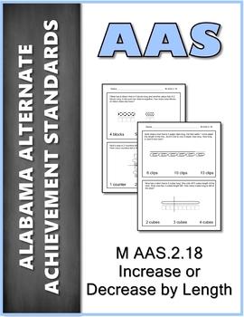M.AAS.2.18 Non-Standard Units  Alabama Alternate Achievement Standards AAS