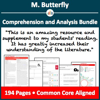 M. Butterfly – Comprehension and Analysis Bundle
