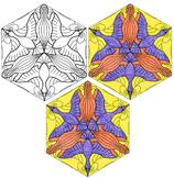 M.C. Escher Tessellation