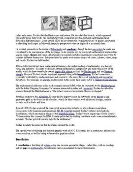M.C. Escher Worksheet