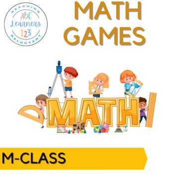 M-CLASS MATH board games