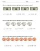 M 6.2 Extended Standard Multiplication Using Coins & Bills