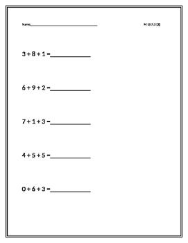 Solve Multi-step add problems