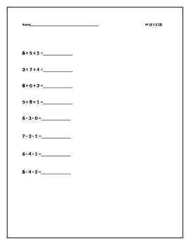 Solve Multi-step addition & Subtraction problems