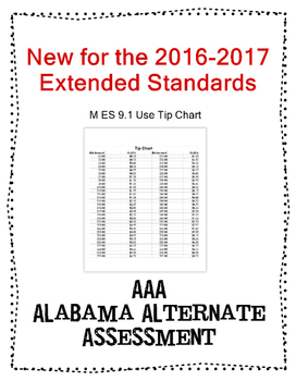 M 9.1 Use Tip Chart  NEW Extended Standards AAA