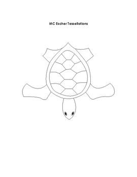 MC Escher Tessellations