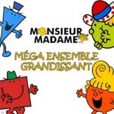 MÉGA ENSEMBLE GRANDISSANT - Monsieur Madame