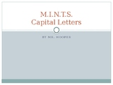 M.I.N.T.S. - rules of capitalization