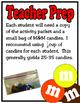 M&M 3rd Grade Math Activities