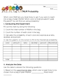 M&M Activity: Experimental vs.Theoretical Probability