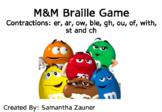 M&M Braille Game