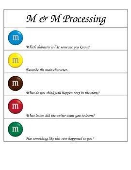 M & M Comprehension