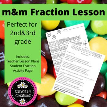 M&M FRACTION LESSON