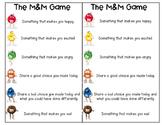 M&M Feelings Game