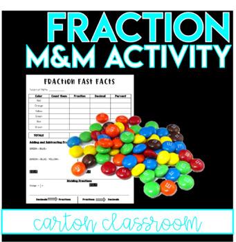 Fraction Ordering M&M's