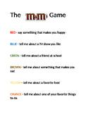 M & M Game
