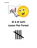 M & M Math Lesson Plan
