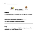 M & M Math Packet