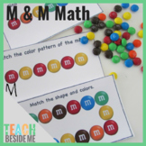 M & M Math Patterns and Counting